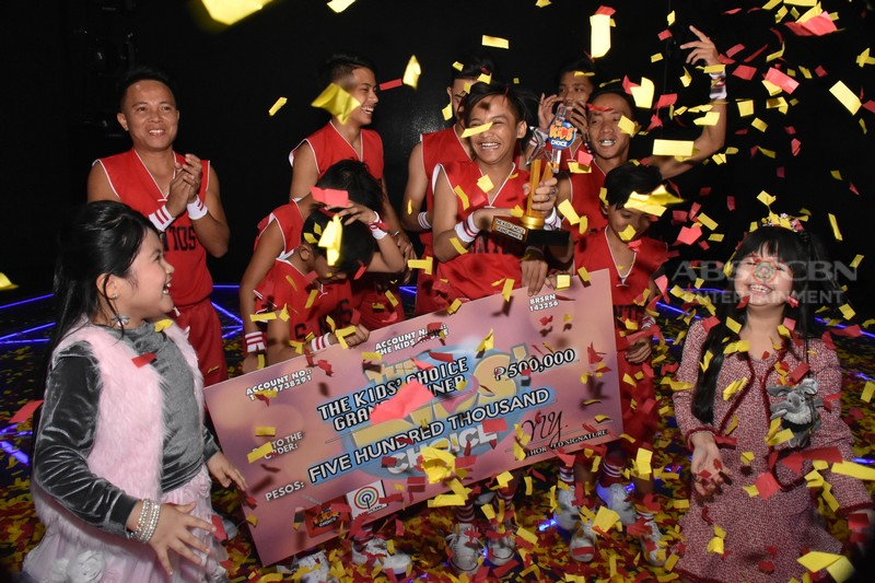 WINNING MOMENTS: Santos Family is the first ever The Kids' Choice Grand Winner